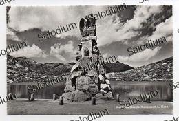 GOTTHARD HOSPIZ MONUMENT - GUEX - GOTTHARDSTRASSE - GOTTARDO - SVZZERA TICINO - TI Tessin