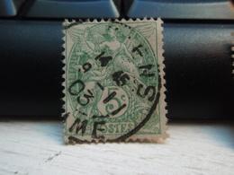 Timbre  Type Blanc 5 C N° 111 - Oblitéré  -  AMIENS - SOMME 1903 - 1900-29 Blanc