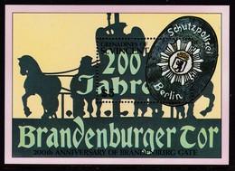 BLOC NEUF DE SAINT-VINCENT GRENADINES - ARMOIRIES DE BERLIN (BICENTENAIRE DE LA PORTE DE BRANDEBOURG) N° Y&T 53 - Briefmarken