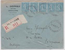 LSC - REC. N°362 Bande De 5 - VAUVILLERS / 22.11.35 - 1921-1960: Modern Tijdperk