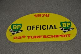 Rally Plaat-rallye Plaque Plastic: 22e Turfschiprit Breda 1976 OFFICIAL BP - Plaques De Rallye