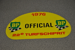 Rally Plaat-rallye Plaque Plastic: 22e Turfschiprit Breda 1976 OFFICIAL BP - Rallye (Rally) Plates