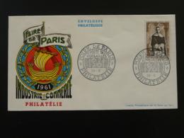 Lettre Cover Foire De Paris 1961 - Postmark Collection (Covers)