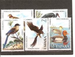España/Spain-(MH/*) - Edifil  2134-38 - Yvert  1788-92 - 1971-80 Nuevos & Fijasellos