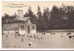 La Garnache. Château De Fonteclose. Chenil Et Meute Cp287 - Altri Comuni