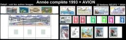 ST-PIERRE ET MIQUELON  - Année Complète 1993 + AVION - Yv. 572 à 591 + PA 72/73 ** MNH  22 Tp  ..Réf.SPM11781 - St.Pierre & Miquelon