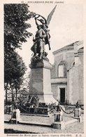 CPA BISCARROSSE-BOURG - MONUMENT DES MORTS POUR LA PATRIE - GUERRE 1914-1918 - Biscarrosse