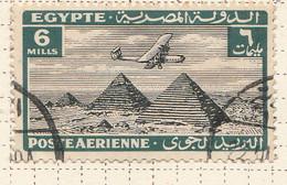 PIA - EGITTO - 1933-38 : Aereo Sulle Piramidi - (Yv P.A. 10) - Poste Aérienne