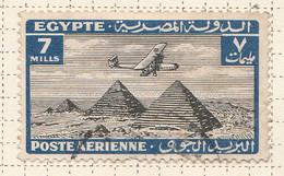 PIA - EGITTO - 1933-38 : Aereo Sulle Piramidi - (Yv P.A. 11) - Poste Aérienne