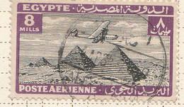 PIA - EGITTO - 1933-38 : Aereo Sulle Piramidi - (Yv P.A. 12) - Posta Aerea
