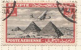 PIA - EGITTO - 1933-38 : Aereo Sulle Piramidi - (Yv P.A. 13) - Poste Aérienne