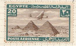 PIA - EGITTO - 1933-38 : Aereo Sulle Piramidi - (Yv P.A. 15) - Posta Aerea