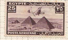 PIA - EGITTO - 1941-43 : Aereo Sulle Piramidi - (Yv P.A. 27) - Poste Aérienne