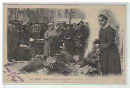 29 BREST SCENE DE LA FOIRE PLACE LIBERTE MARCHE AUX CHIFFONS - Brest