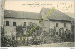 74.  SAINT JOSEPH D'ANNECY . Cour Des Entretiens . - Annecy