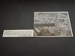 """Origineel Knipsel ( 3301 ) Uit Tijdschrift """" Ons Volk """"  1932  :  Laeken   Laken - Sin Clasificación"""