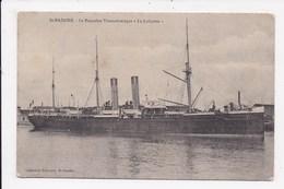 CP BATEAU Le Paquebot Transatlantique Le Lafayette  St Nazaire - Dampfer