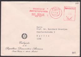 Berlin Ministerium Für Auswärtige Angelegenheiten AFS =010=, 1.7.86, Diplomatenpost Aus Madrid - Oficial