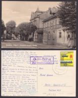 Gutitz-Zeetze über Neuhaus  (Elbe) Poststellenst., Fotokarte Friedrichs-Engels-Str. Mit 10 Pf. Messe 1963 - [6] Democratic Republic