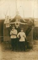 LOCKSTEDTER HOLSTEN 1912 CARTE PHOTO  SOLDATS  ALLEMANDS  VOIR LES DEUX SCANS - Allemagne