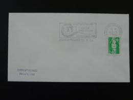 Portes Ouvertes Lycée Jules Haag Besancon 1994 Flamme Sur Lettre Postmark On Cover 25 Doubs - Mechanical Postmarks (Advertisement)
