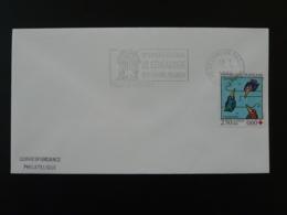 Congrès Généalogie Besancon 1995 Flamme Sur Lettre Postmark On Cover 25 Doubs - Mechanical Postmarks (Advertisement)