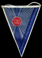 Fanion Radio  PRAGUE Praha / Tchécoslovaquie / 25ème Anniversaire Monitor Club Hauteur 190 Mm - Radio & TSF