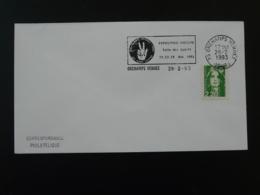 Exposition Les Dons Cachés Orchamps Vennes 1993 Flamme Sur Lettre Postmark On Cover 25 Doubs - Mechanical Postmarks (Advertisement)