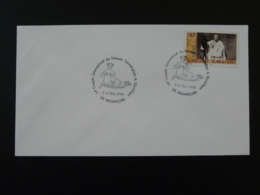 Sirène Mermaid Genealogie Besançon 2000 Oblitération Sur Lettre Postmark On Cover 25 Doubs - Mythology