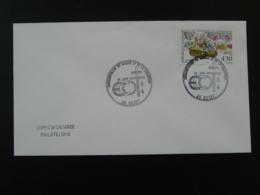 50 Ans Maquis Libération Ecot 1994 Oblitération Sur Lettre Postmark On Cover 25 Doubs - WW2