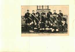 63 - Puy De Dôme - Equipe 1ere Du Stade Ambertois 1911 1912 - France