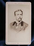 Photo CDV Chenel Glénisson à Sens - Beau Portrait Homme Blond Vers 1875-80 L290 - Photos