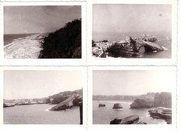 Biarritz Aout 1957 - Lot De 10 Photos 10.5x7.5cm - Vues Diverses - Lieux