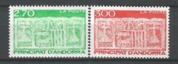 ANDORRE ANDORRA ANNEE 1996 N°472 473 LOT DE 2 TP NEUFS** NMH - Ongebruikt