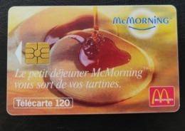 Telecarte France Publique 1998 Mc Donald's - Le Petit Déjeuner McMorning Aliments | Restaurations Rapides - Francia