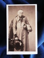 Photo CDV Pierre Petit à Paris - Second Empire Alexis Billiet Cardinal Savoisien Circa 1865 L290 - Photos