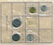 REPUBBLICA ITALIANA  ANNO 1973 - 5 VALORI FDC - SERIE PRIVATA - 1946-… : République