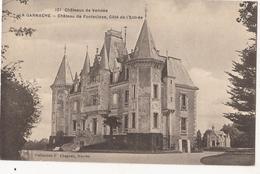 La Garnache Château De Fonteclose Vendée. (±1915)    Cp291 - Altri Comuni