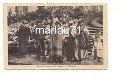 P1120 Lazio ROMA Costumi CIOCIARE Piazza  Di Spagna 1918 Viaggiata - Altri