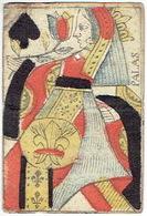 CARTE A JOUER ANCIENNE XVIII ème 18 ème - Playing Card - Dame De Pique - PALLAS - Playing Cards (classic)