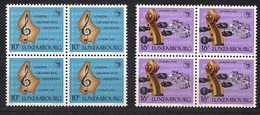 Cept  Europa 1985 Luxembourg Yvertn° 4 X 1075-76 *** MNH Cote 32 € Musique - 1985
