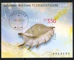 POLAND 2005 MICHEL NO BL.161 B USED - Gebraucht