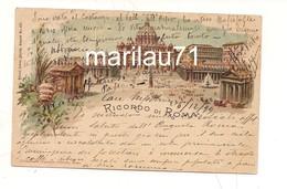 P1122 Lazio ROMA Ricordo Gruss 1889 Viaggiata - Altri