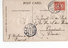 Vreeswijk 1 Langebalk Woerden 1 - 1911 - Postal History