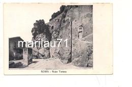 P1123 Lazio ROMA Rupe Tarpea Non Viaggiata Primi '900 Testo Lungo - Altri