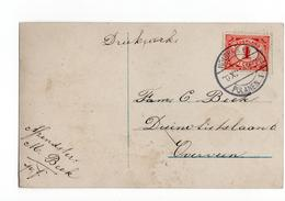 Houtrijk En Langebalk Polanen 1 - 1914 - Marcophilie
