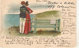"""Lance Tackeray. ....a Little Off Colour"" Tuck Write Away Comic Sketches Ser. PC # 267 - Tuck, Raphael"