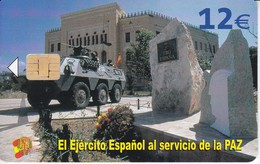 CP-311 TARJETA DEL EJERCITO ESPAÑOL EN BOSNIA DE TIRAJE 50010 Y FECHA 08/07 - Spanien