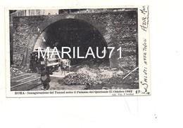 P1130 Lazio ROMA Inaugurazione Tunnel 1902 Viaggiata - Transports