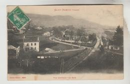 LOT 14032050 CPA SAINT NABORD (Vosges) - Vue Générale : La Gare - Saint Nabord